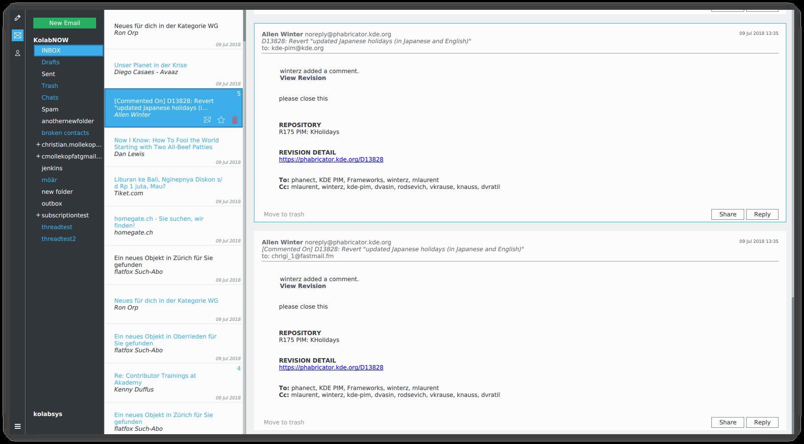Os 5 melhores clientes de email para Linux – Linux Centro